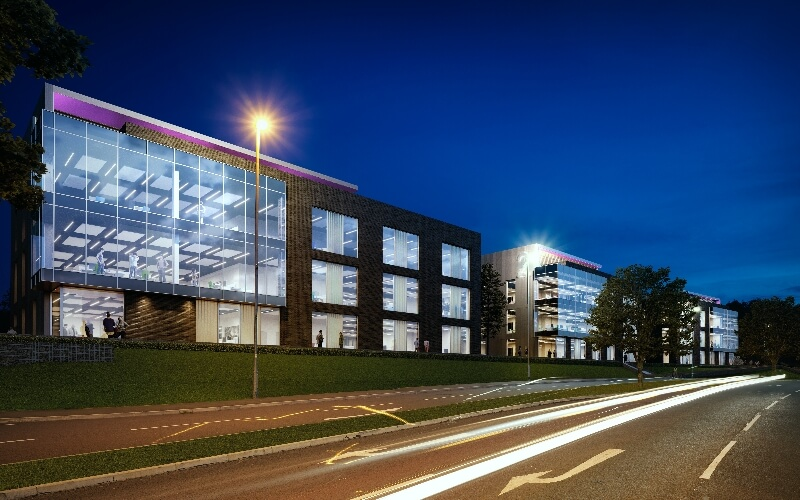 Project Violet | speculative Grade A office space in Daresbury