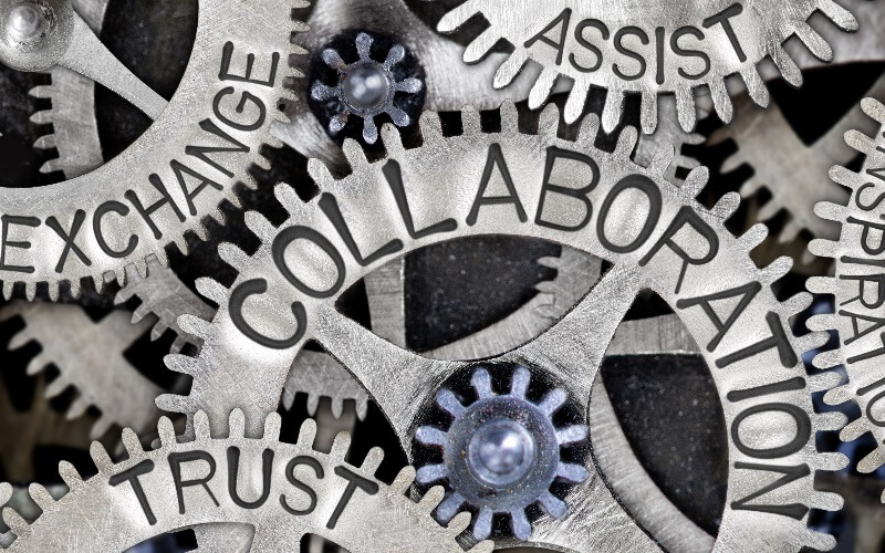 Utilisation of collaboration and collaborative partners for the development of early-stage technical companies