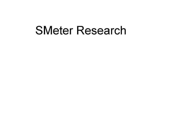 SMeter Research Logo